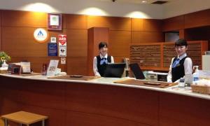 ⑯【2F フロントロビー】1-横浜伊勢佐木町ワシントンホテル